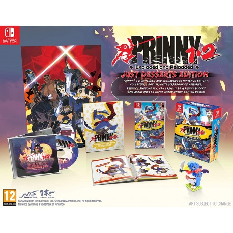 Prinny 1-2: Exploded And Reloaded Just Desserts Edition - Nintendo Switch