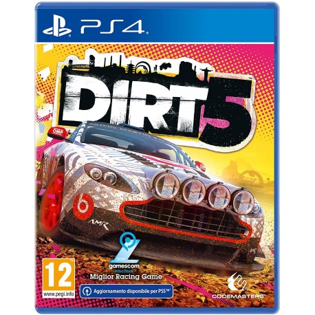 DiRT 5 - Launch Edition - Day-One - PS4