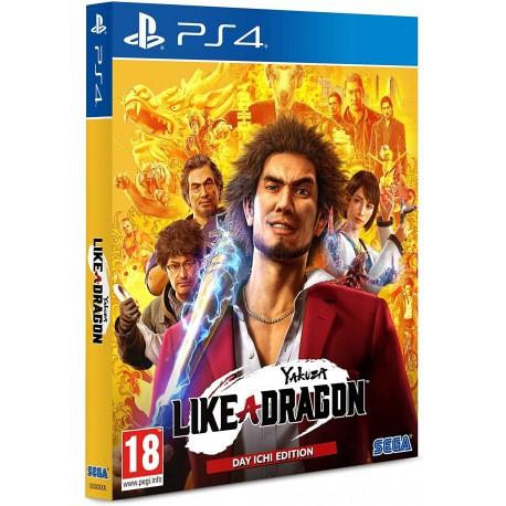 YAKUZA: LIKE A DRAGON - DAY ICHI EDITION PS4