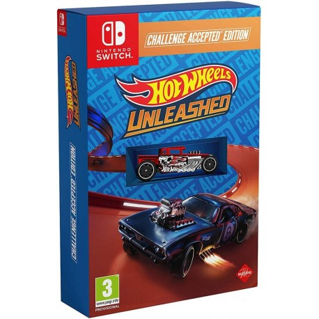 HOT WHEELS UNLEASHED - CHALLENGE ACCEPTED EDITION SWITCH
