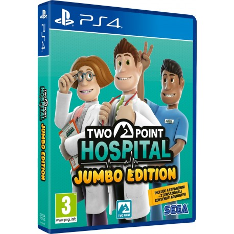 TWO POINT HOSPITAL: JUMBO EDITION PS4