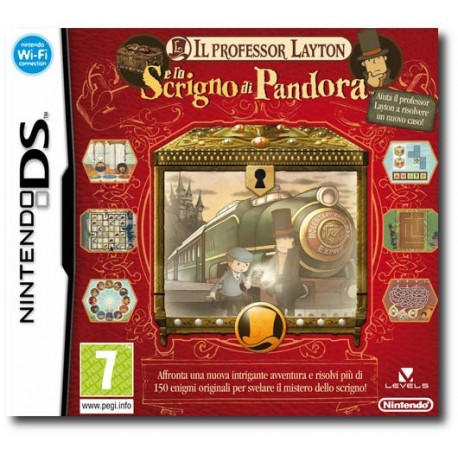 Il Professor Layton e Lo Scrigno di Pandora (DS)