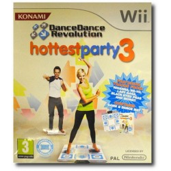 Dancing S.Hottest Party 3 + Mat. (Wii)