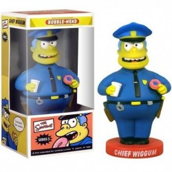 SIMPSONS - Bobble Head 15cm Commissario Winchester