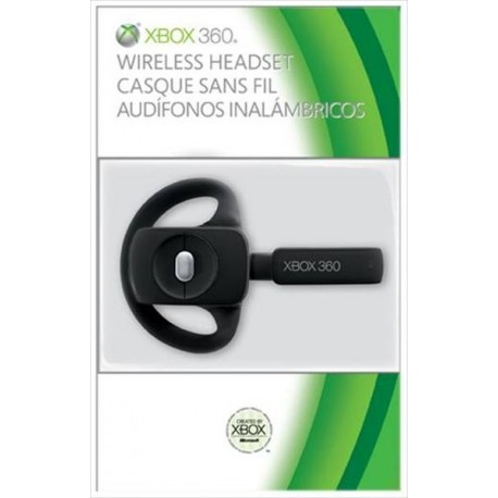 MICROSOFT X360 Wireless Headset Cuffie AuricolareR 2010