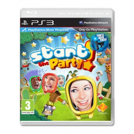 Start the Party! E' qui la Festa!(Move) (PS3)