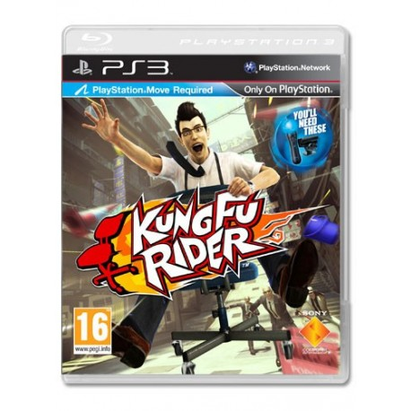 Kung Fu Rider (Move Compatible) (PS3)
