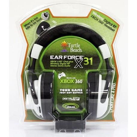 Cuffie - MAD CATZ X360 Headset Ear Force X31 Turtle Beach