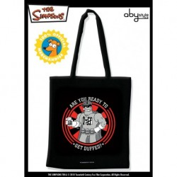 "SIMPSONS - Tessuto Bag ""Get Duffed"" X5"