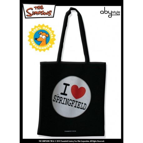 "SIMPSONS - Tessuto Bag ""I Love Springfield"" X5"