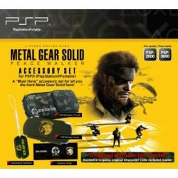 Metal Gear Solid Peace Walker Accessory Set