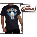 "SIMPSONS T-Shirt Homme Dark Grey ""Krusty Joker"""