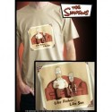 "SIMPSONS T-Shirt Beige Homme ""Like Father Like Son"""