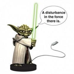 STAR WARS - Yoda USB Desk Protector