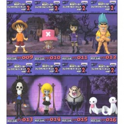 One Piece World Collectable Figure Vol.3 - set da 8