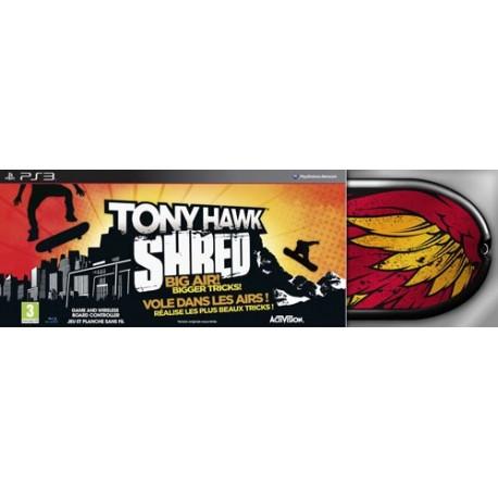 TONY HAWK SHRED + TAVOLA (PS3)