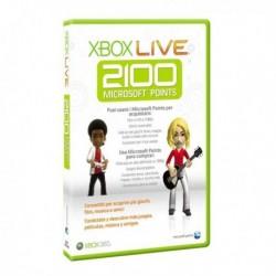XBOX 360 LIVE 2100 PUNTI