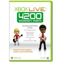 XBOX 360 4200 PUNTI