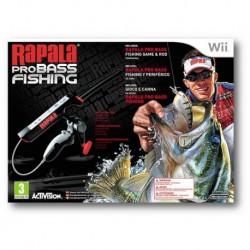 Rapala Pro Bass Fishing 2010 + Canna da Pesca (Wii)