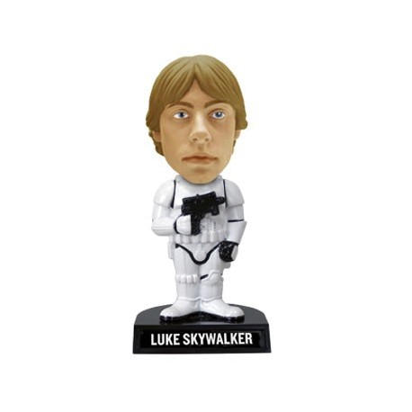 STAR WARS - Bobble Head Luke as Stormtrooper