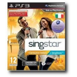 Singstar Cantautori Italiani (PS3)