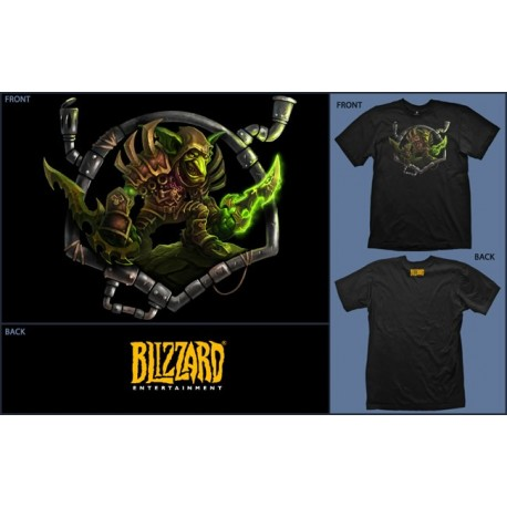 WORLD OF WARCRAFT - Tshirt Goblin