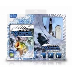 Shimano Extreme Fishing + canna da pesca (Wii)