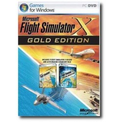 Flight Simulator X Gold Edition (PC)
