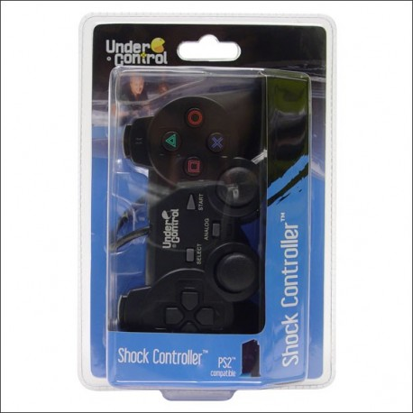 Joypad Shock Black PS2