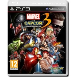 Marvel Vs. Capcom 3: Fate of Two Worlds (PS3)
