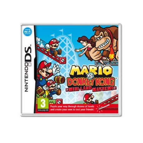 Mario Vs Donkey Kong: Parapiglia a Minilandia (DS)