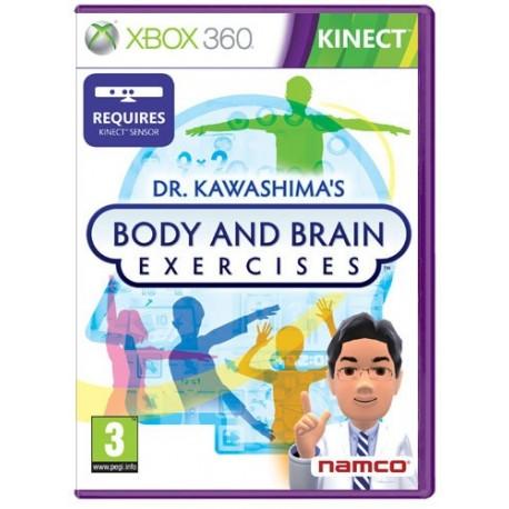 Dr Kawashima esercizi per la mente e il corpo (Richiede Kinect) (Xbox 360)