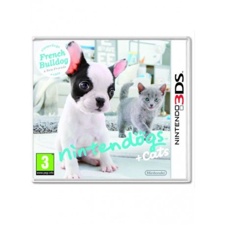 Nintendogs and Cats: French Bulldog and New Friends (3DS)