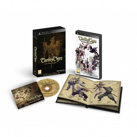 Tactics Ogre: Let Us Cling Together - Premium Edition (PSP)