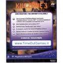 KILLZONE 3 DLC VOUCHER CONTENUTI EXTRA