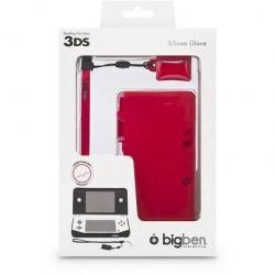 Silicon Glove 3DS Rosso