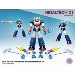 HIGH DREAM METALTECH 01 GOLDRAKE DIECAST 16CM