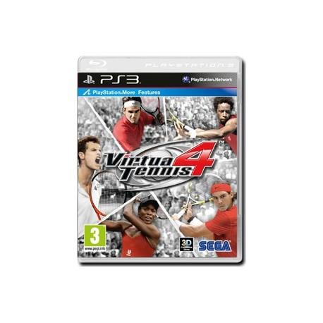 Virtua Tennis 4 (Move Compatibile)(PS3)