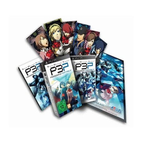 Shin Megami Tensei: Persona 3 Portable Collector's Edition (PSP)