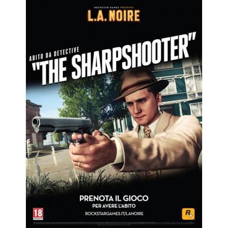 "DLC VOUCHER Pacchetto ""The Sharpshooter"" PS3"