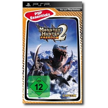 Monster Hunter Freedom 2 Essentials (PSP)