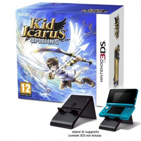 Kid Icarus: Uprising + Cards + Stand (3DS)