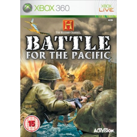 History Channel Battle For The Pacific (XBOX 360)