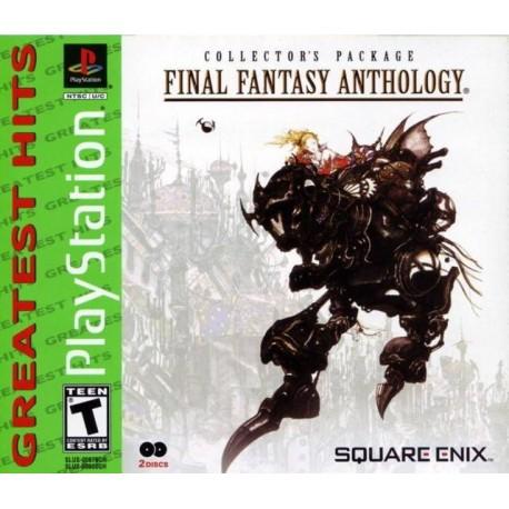 Final Fantasy Anthology psone usa greatest hits