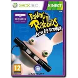 Raving Rabbids: Alive & Kicking (Kinect compatibile) (X360)