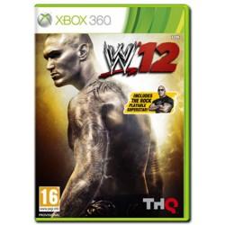 "WWE 12 + Bonus ""The Rock"" (X360)"