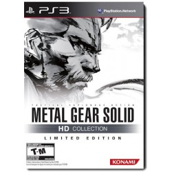 Metal Gear Solid HD Collection Limited Edition (PS3) USA