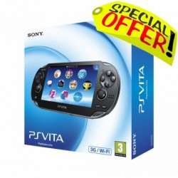 Console Sony PlayStation Vita Wi-Fi 3G (PS Vita)