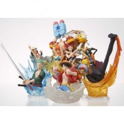One Piece new world diorama set da 5