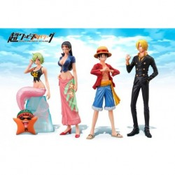One Piece super styling new set da 4